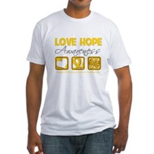 Childhood Cancer Love Hope Shirt