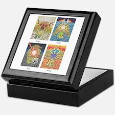 Four Archangels Keepsake Box