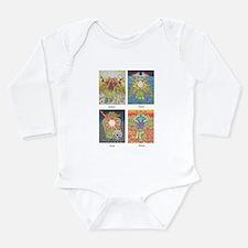 Four Archangels Long Sleeve Infant Bodysuit