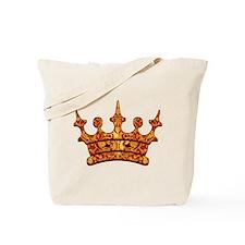 Gold Leaf Crown Tote Bag