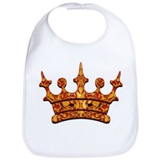 Gold Leaf Crown Bib