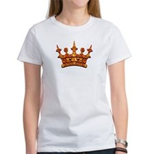 Gold Leaf Crown Tee