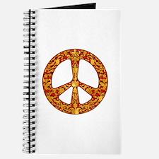 Gold Leaf Peace Journal
