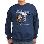 Haley: Sneak Attack... Navy Sweatshirt