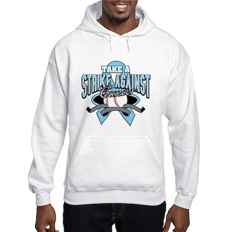 Take a Strike Prostate Cancer Hooded Sweatshirt