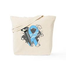 Screw Prostate Cancer Tote Bag