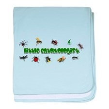Cute New bee baby blanket
