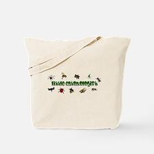 Funny Spider kid Tote Bag