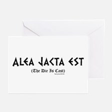 Alea Jacta Greeting Cards (Pk of 20)