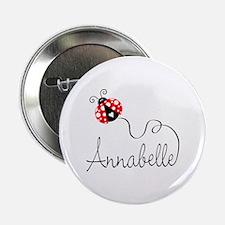 "Ladybug Annabelle 2.25"" Button"