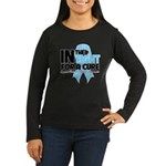 In The Fight Prostate Cancer Women's Long Sleeve D
