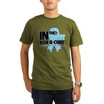In The Fight Prostate Cancer Organic Men's T-Shirt