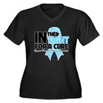In The Fight Prostate Cancer Women's Plus Size V-N