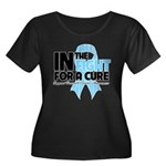 In The Fight Prostate Cancer Women's Plus Size Sco