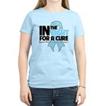 In The Fight Prostate Cancer Women's Light T-Shirt