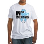In The Fight Prostate Cancer Fitted T-Shirt