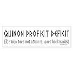 Quinon Sticker (Bumper 10 pk)