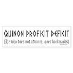 Quinon Sticker (Bumper 50 pk)