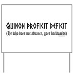 Quinon Yard Sign