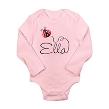 Ladybug Ella Long Sleeve Infant Bodysuit