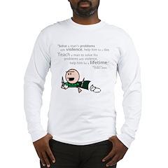 Belkar: Violence... Long Sleeve T-Shirt