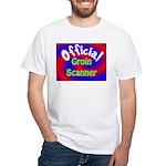 Groin Scanner White T-Shirt
