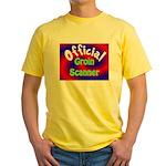 Groin Scanner Yellow T-Shirt