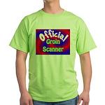 Groin Scanner Green T-Shirt