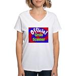 Groin Scanner Women's V-Neck T-Shirt
