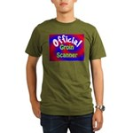 Groin Scanner Organic Men's T-Shirt (dark)