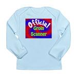 Groin Scanner Long Sleeve Infant T-Shirt