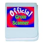 Groin Scanner baby blanket