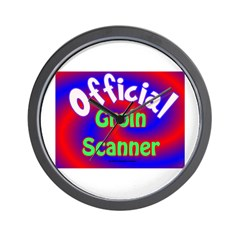 Groin Scanner Wall Clock