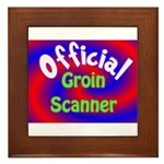 Groin Scanner Framed Tile