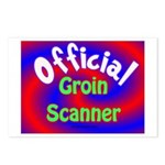 Groin Scanner Postcards (Package of 8)