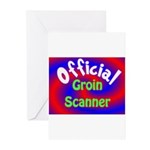 Groin Scanner Greeting Cards (Pk of 20)