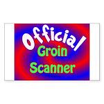 Groin Scanner Sticker (Rectangle)