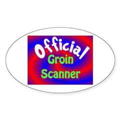 Groin Scanner Decal