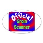Groin Scanner Sticker (Oval 10 pk)