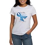 Hero Ribbon Prostate Cancer Women's T-Shirt