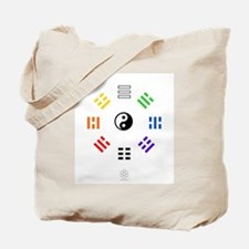 White Hex : Yi Jing Tote Bag