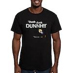 Elan: DunhDunhDUNNH! Men's Fitted T-Shirt (dark)
