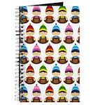 Cute Christmas Elf Pattern Journal