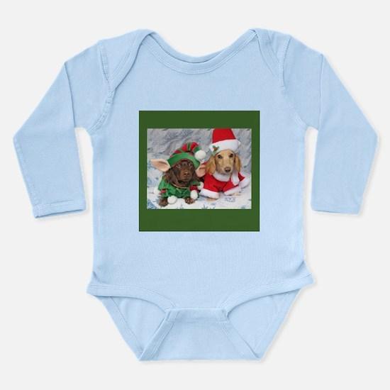 Xmas Long Sleeve Infant Bodysuit