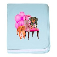 Cure Doxies baby blanket