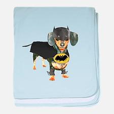 Batdog baby blanket