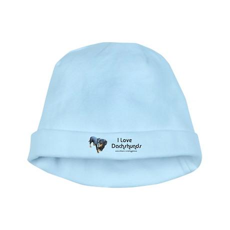 'Lily Dachshund Dog' baby hat