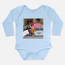 Sleepover Long Sleeve Infant Bodysuit