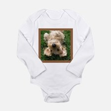 Upside Down Long Sleeve Infant Bodysuit