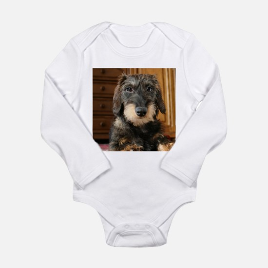 Wired Haired Long Sleeve Infant Bodysuit